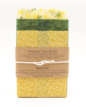 Load image into Gallery viewer, BEESWAX FOOD WRAP (STARTER SET)