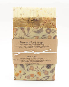 BEESWAX FOOD WRAP (CHEESE SET)