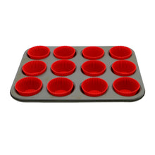 Load image into Gallery viewer, SILICONE CUPCAKE LINERS/BAKING CUPS