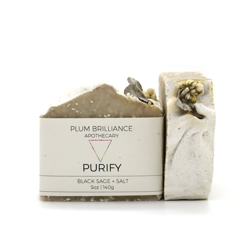 PURIFY (BLACK SAGE NATURAL SOAP)