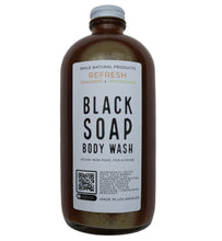 Load image into Gallery viewer, BODY WASH w/ AFRICAN BLACK SOAP