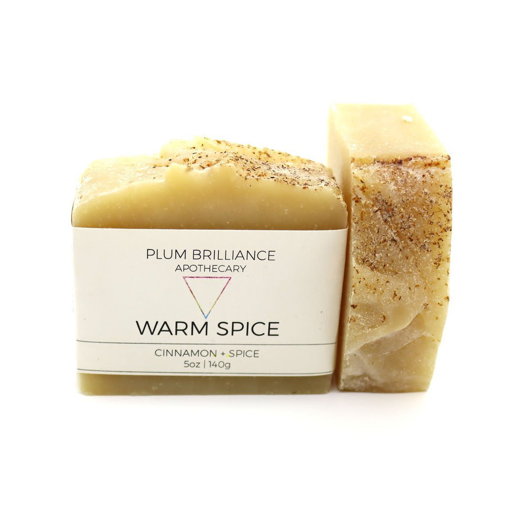 WARM SPICE (CINNAMON NATURAL SOAP)