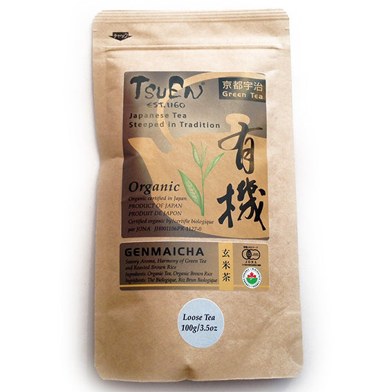 Tsuen Yuki Genmaicha from Kyoto Japan 100g