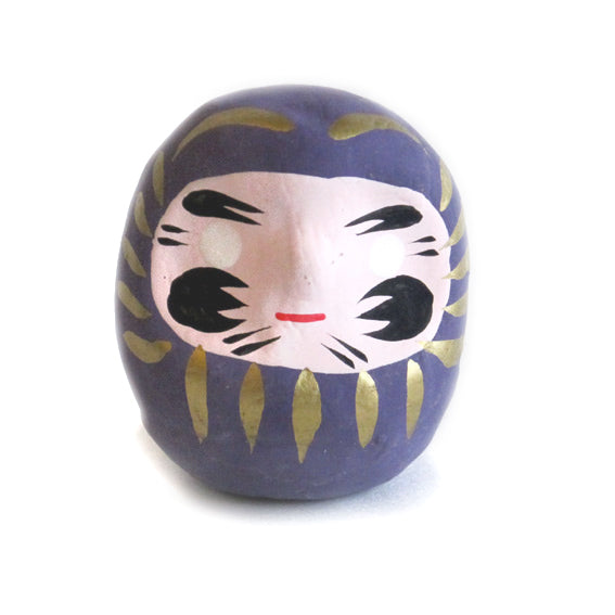 Mini Daruma Purple