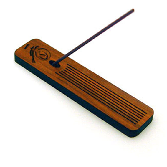 Incense Holder Cherry Wood