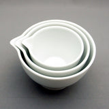 Measuring Bowls White 3pcs