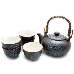 Tea Set Seigaiha Wave