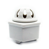 Incense Holder 6Kaku Kouro White