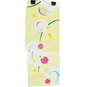 Yukata for Women Yellow Fireflies