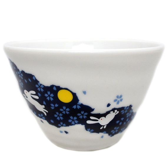 Medium Bowl Rabbit Blue