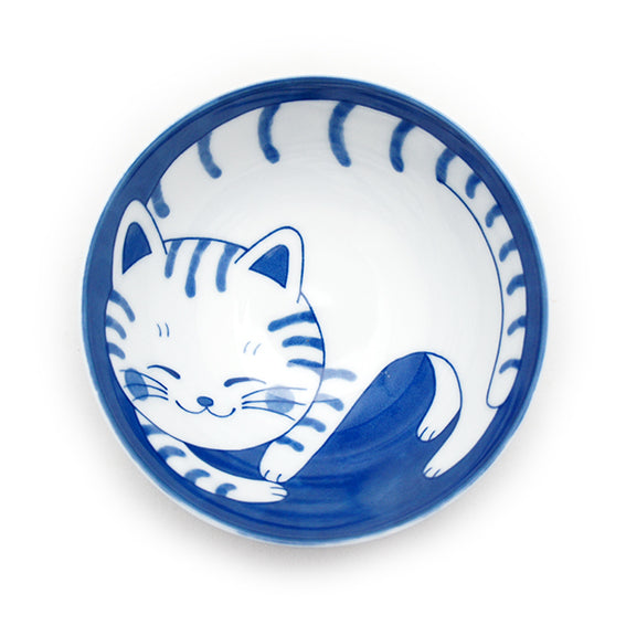Rice Bowl Cat Tora