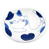 Medium Oval Plate Cat Mike