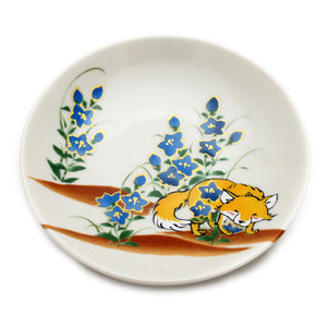 Mini Plate Hinatanomori Fox