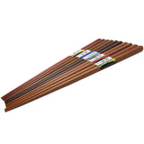 Chopsticks Set 5 Pairs Wooden DX