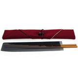 Chopsticks and Bag Red Muji