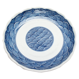 Medium Plate Seigaiha Ring