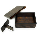Lunch Box Wooden Kaku