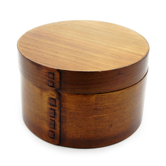 Lunch Box Wooden Round