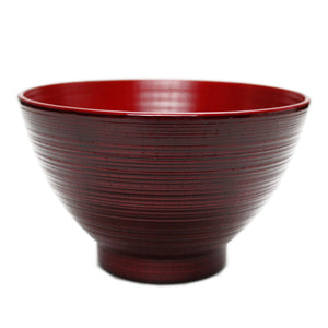 Soup Bowl PET Hakeme Red Inside