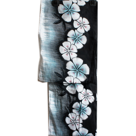 Yukata for Women Black Shibasakura