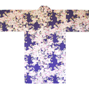 Yukata Robe for Women Sakura Purple