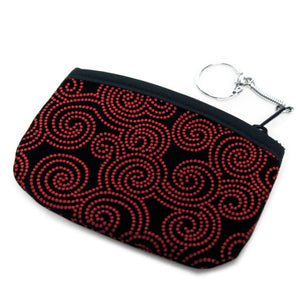 Coin Purse Inden style Red Storm
