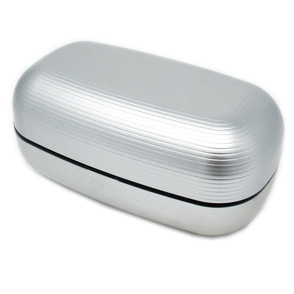 Lunch Box Samon Silver