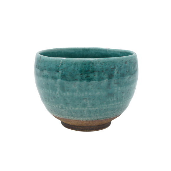 Tea Bowl Turquoise Blue