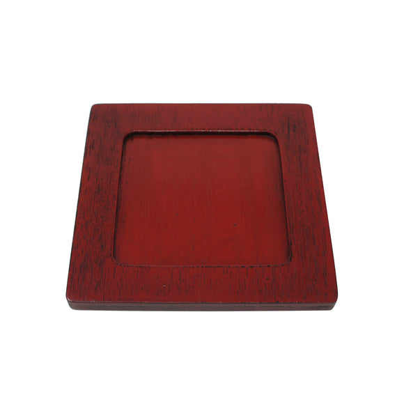 Coaster Square Red