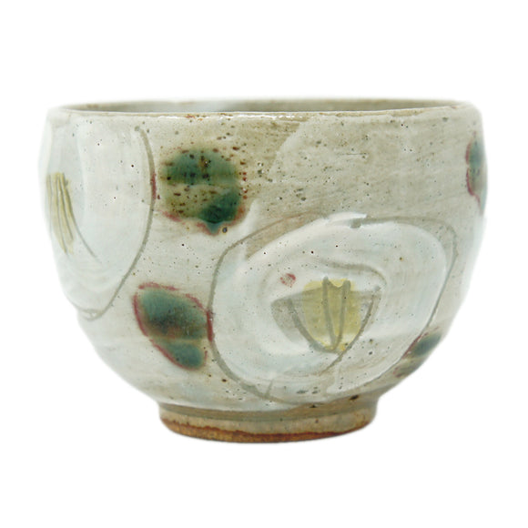 Tea Bowl Sazanka White