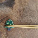Christmas Tree Chopstick Rest
