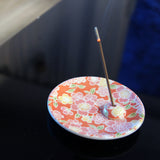 Incense Holder Flower Pink