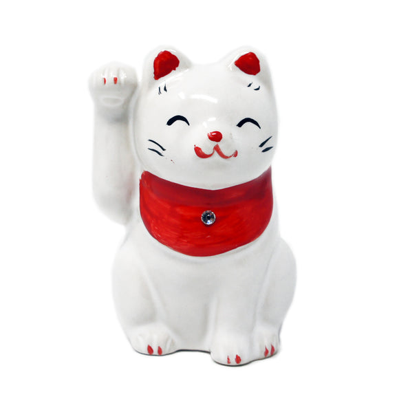 Cat Ornament White