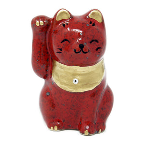 Cat Ornament Red