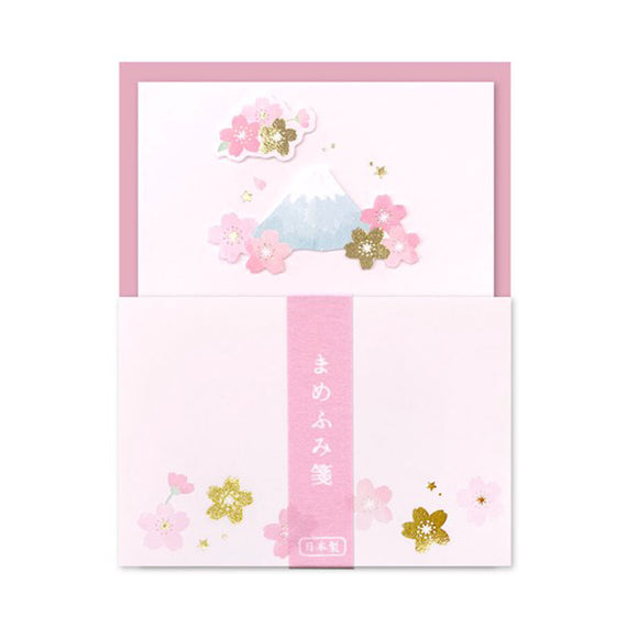 Mini Letter Set Sakura and Mt.Fuji