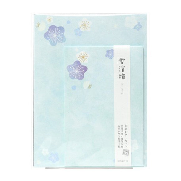 Letter Set Snow Plum