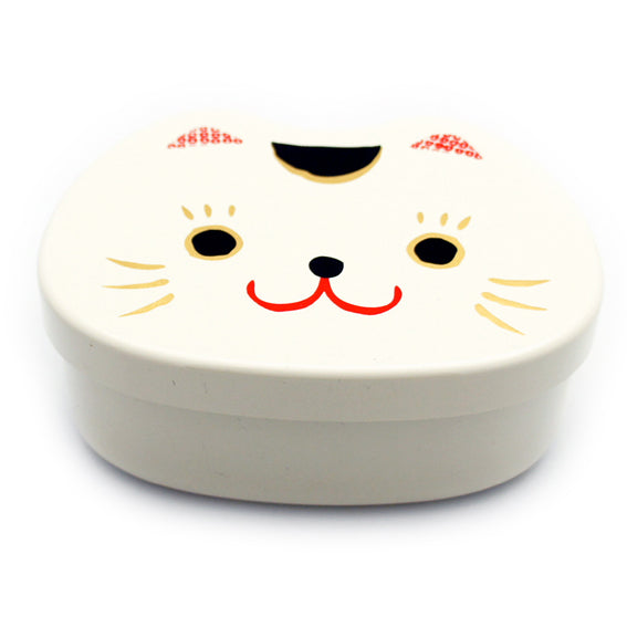 Lunch Box Kao Manekineko Shiro