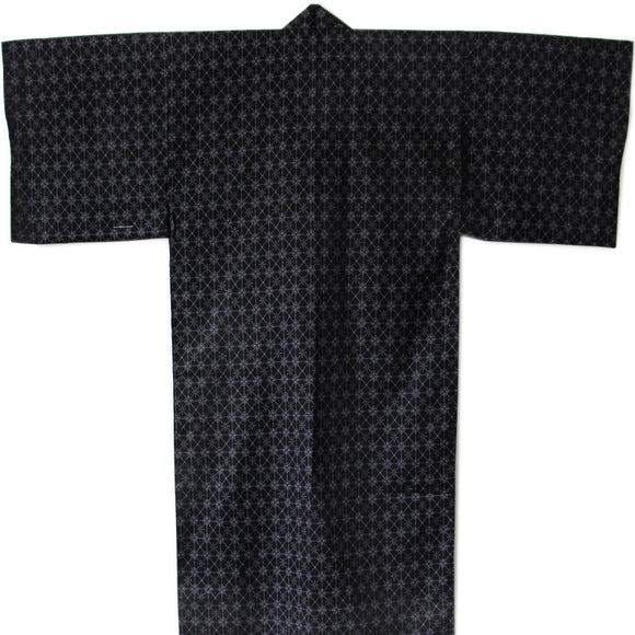 Yukata Robe for Men Argyle