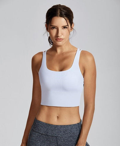 Brassière de Sport Blanche Level Up