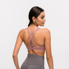 Brassière Yoga Rose Glamour - rose / XS