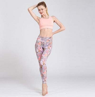 Legging Yoga Coquillage