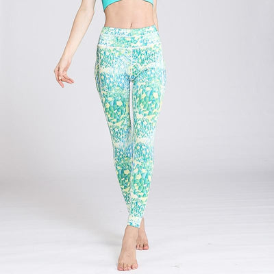 Legging Yoga Crystal Clear - Bleu / S