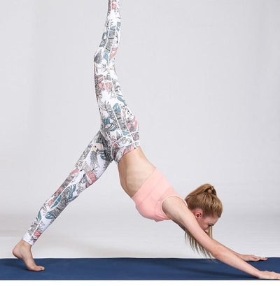 Legging Yoga Fish Bird