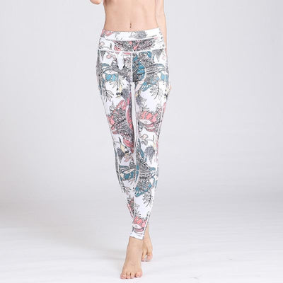 Legging Yoga Fish Bird - Fish Bird / S