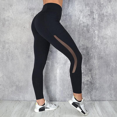 Legging Yoga Noir Black Hole - noir / S