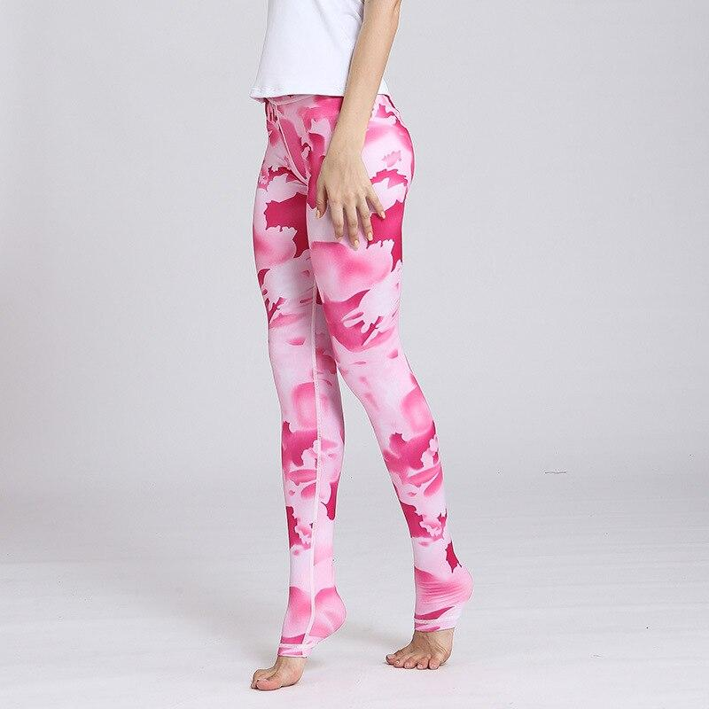 Legging Yoga Rose Bonbon