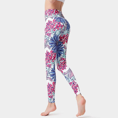 Legging Yoga Stunning - Rose / S