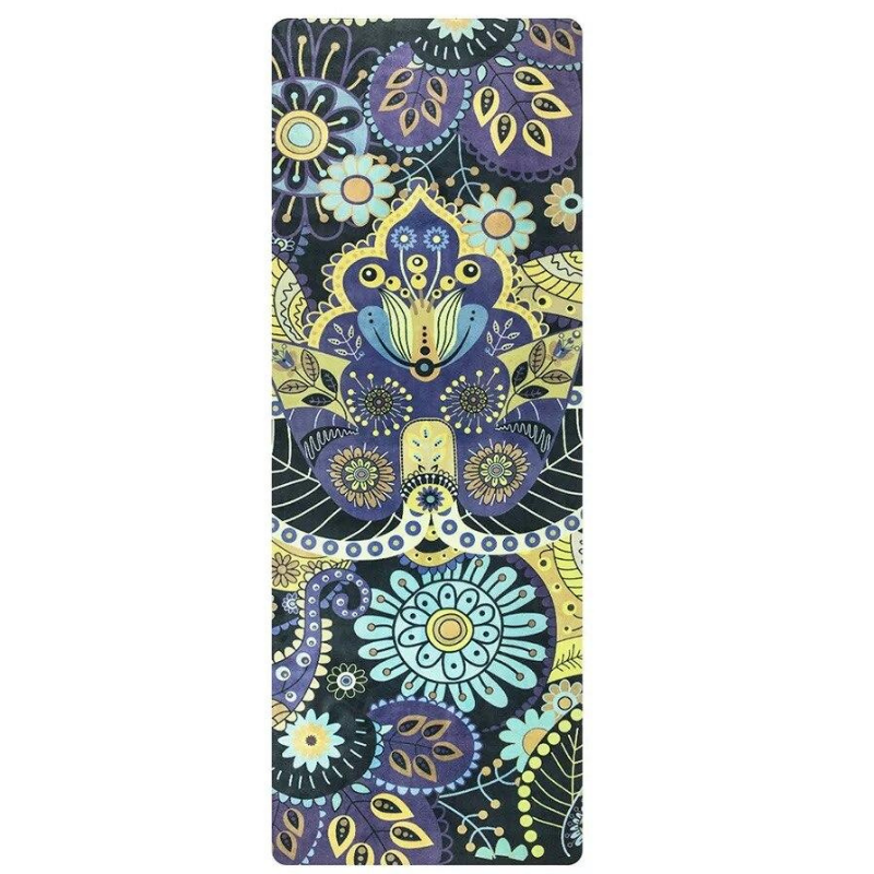 Tapis Yoga Naturel Prana - Bleu