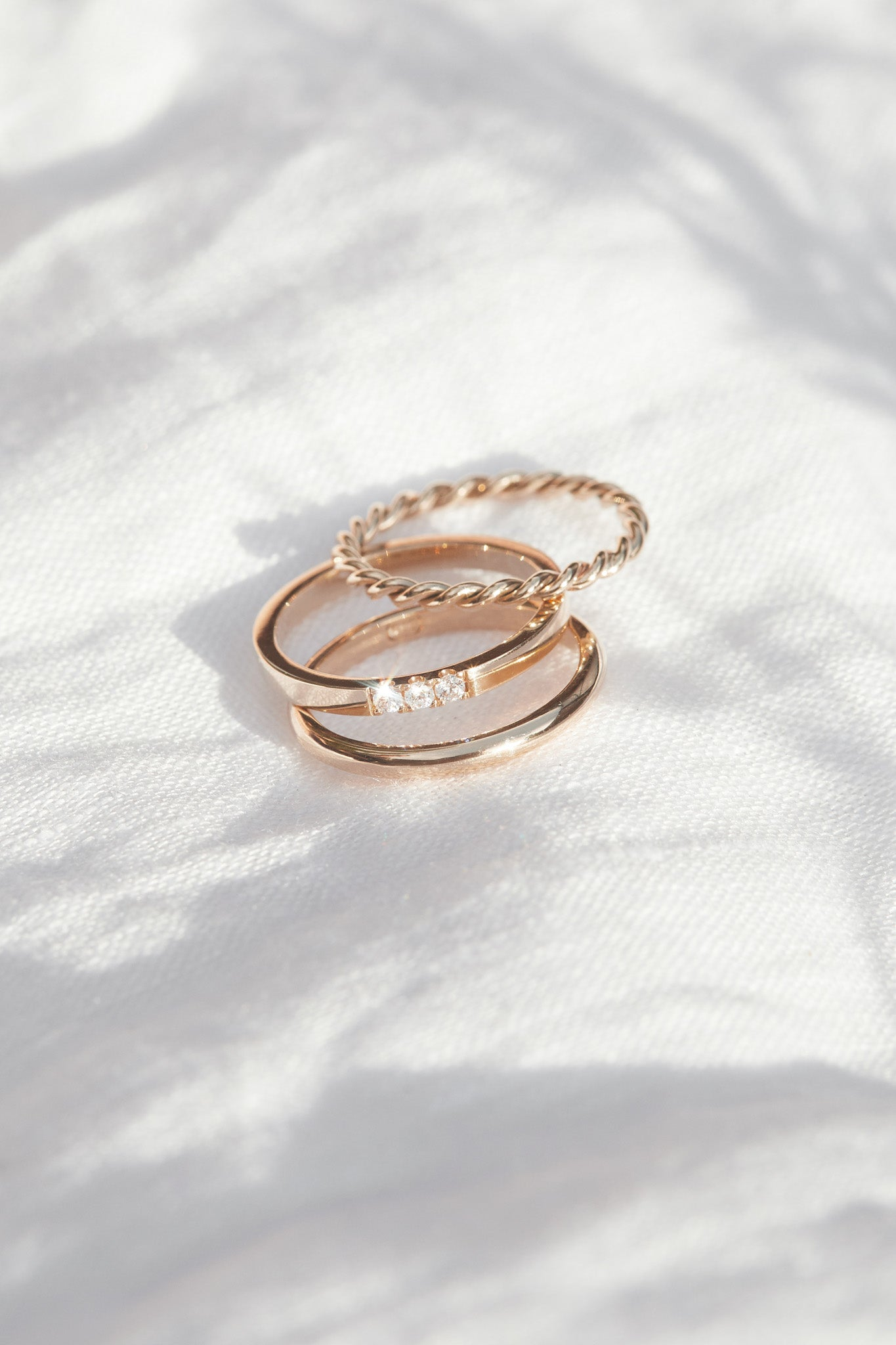 Simone Ring in 9ct Rose Gold