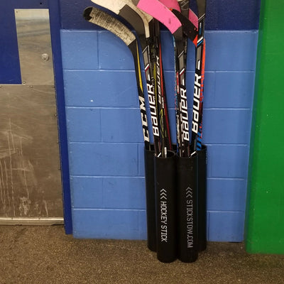 """The Players"" Hockey Stick Holder Rack Organizer (15-20) Sticks - Stickstow.com"